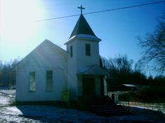 Blackfork, OH (Lawrence County) - An old church next to Blackfork - Firebrick Rd. My Family History, Local History, Abandoned Buildings, Abandoned Places, Lawrence County, Home Again, Ghost Towns, Ohio, Southern