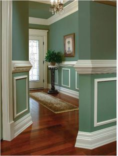 accent framing and chair railing - Google Search