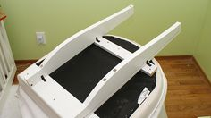 IKEA Hackers: Ektorp Tullsta to Rocking Chair Using Spare Crib Parts