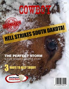 ARTICLE SHARES SEVERAL REAL STORIES OF SOUTH DAKOTA RANCHERS AND THE AFTERMATH OF ATLAS THE OCTOBER BLIZZARD.
