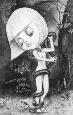 Blythe as Lilith - by Thomas DePorter (Friend2Blythe)