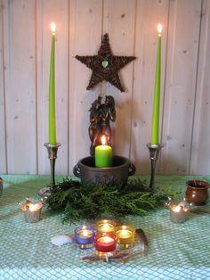 Beltane Altar 2010