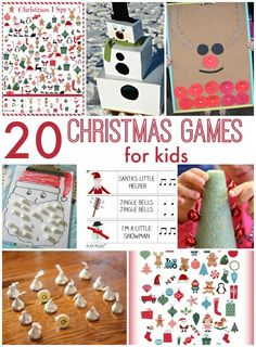 20 Awesome Christmas Games for kids!