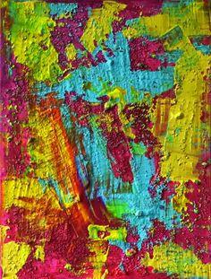 Matter Painting 2 by Pamela Lukrecja Rys #abstractart #contemporaryart #painting #colors S/S 2017