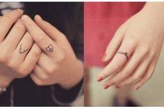 28 tatuagens micro para fazer nos dedos