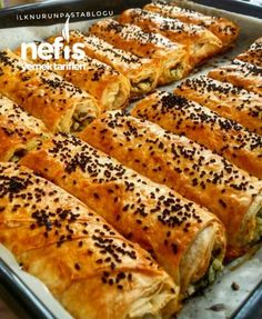 Crispy Pastry with Soda - Yummy Recipes - Pastry Recipes, Cooking Recipes, Pancake Recipes, Good Food, Yummy Food, Iftar, Turkish Recipes, Steak Recipes, C'est Bon