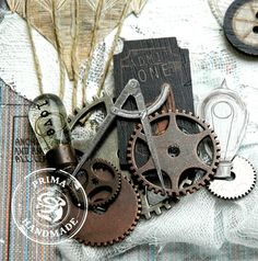 Prima - Craftsman and Junkyards findings [close up] - by Brit