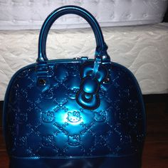 Sanrio hello kitty teal purse