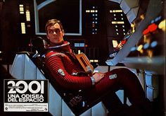 2001: A Space Odyssey, Spanish lobby card. Re-release 1980s