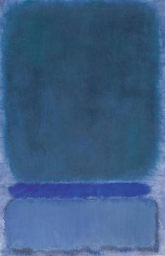 Mark Rothko, Green on Blue, 1968 on ArtStack #mark-rothko #art