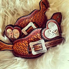 Spur Straps by Sheila Carlson (from Cowsfolkcare, Mormon Lake AZ) & Hardware by Sherry Thorne Cowboy Gear, Cowboy Horse, Cowboy And Cowgirl, My Horse, Cowgirl Style, Horse Tack, Horses, Leather Art, Custom Leather