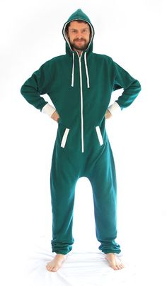 dd52119ebafb This super comfy green onesie is great for when you re chillin