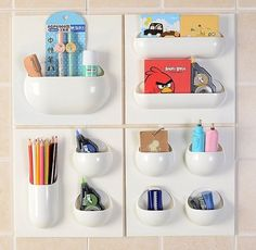 47 insanely clever storage ideas for your whole house - Kitchen Wall Organization Ideas
