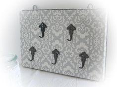 Hakenleisten - Shabby Schlüsselbrett 'Vintagehaken' - ein Designerstück von Dragonflys-Home bei DaWanda