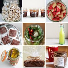 Homemade Edible Gift Ideas