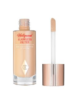 Main Image - Charlotte Tilbury Hollywood Flawless Filter for a Superstar Youth Glow Charlotte Tilbury, Illuminator Makeup, Superstar, Foto Filter, Red Carpet Makeup, Glow, Liquid Highlighter, Highlighter Makeup, Shopping