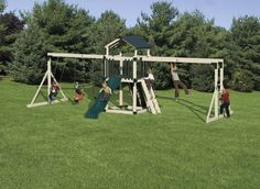 Adventure World Busy Base Camp Swing Set Package, Price: $3,789.00  (Current Special Price of $3,528.73!)