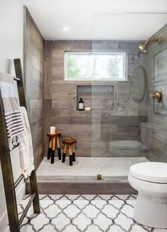 Design guest WC - 15 nice ideas for a small bathroom, You like to invite guests and want to ensure their well-being? Then you should take care of everything - delicious food, cozy bedroom and of course a ..., #Decor #Ideas #Design #DIY