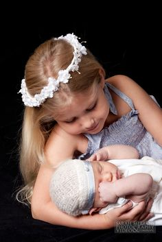 Girl and Baby