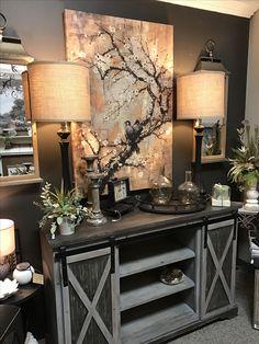 Those lantern wall mirrors! Living Room Interior, Home Living Room, Home Interior Design, Living Room Decor, Bedroom Decor, Luxury Home Decor, Home Decor Furniture, Entryway Decor, Wall Mirrors