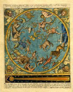 M. Casparus Hersbach presenta il percorso della grande cometa del 1618, la terza delle tre comparse in quell'anno. Osservata anche da Keplero, fu oggetto di trattazione nel Saggiatore di Galileo. L'orbita della cometa è tracciata per l'intervallo di tempo tra il 6 e il 18 dicembre. Colonia, 1618.