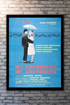 Umbrellas of Cherbourg, The (1964)