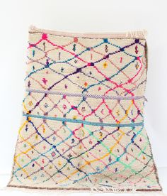 Boucherouite Rug B1- I would absolutely love to own one of these rugs!