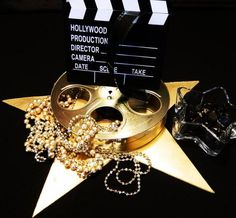 Hollywood centerpiece grouping #1   All the Rage Decor