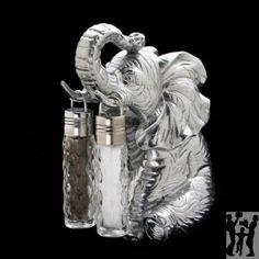 ARTHUR COURT ELEPHANT HANGING SALT ST