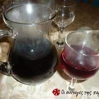 Χριστουγεννιάτικο ρόφημα Juice Smoothie, Smoothies, Sweet Words, Wine Decanter, Red Wine, Barware, Alcoholic Drinks, Ethnic Food, Treats