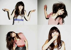 Zooey Deschannel. adorable and talented.