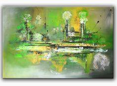 BURGSTALLER Malerei Acrylbild Abstrakt Kunst Original Wandbild Gemälde INSPIRE 4 http://www.burgstallers-art.de/online-shop/abstrakte-kunst/