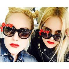 The Beckerman Twins in ANNA-KARIN KARLSSON – Rose Rouge