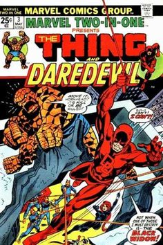 Marvel Two-in-One #3  The Thing and DareDevil