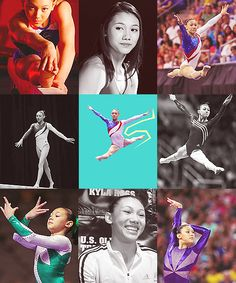Kyla Ross.  She started out at the same gym where my daughter trains.