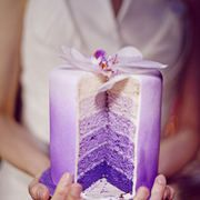 Purple ombre cake!