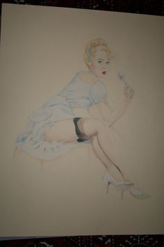 Disney Pinups - Cinderella by ~pixifly
