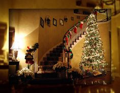 365 Days of Christmas I love the glowing lights of Christmastime!
