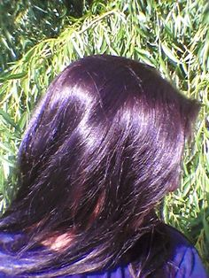 Nounou et ses tambouilles: Henné brun-grenat, nouveau mélange