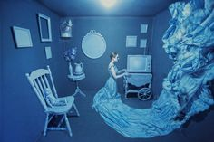 Blue | This Photographer Transforms One Room Into A World Of Colours