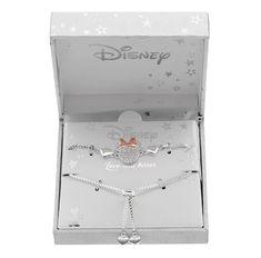 Enchanting Two Tone Minnie Mouse Bolo Bracelet