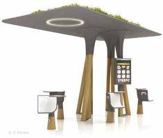 mobilier urbain intelligent Un mobilier urbain intelligent et interactif à Paris fin 2011