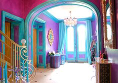 Цвет a la francaise: 5 красочных домов, в которых живут француженки