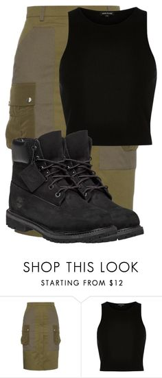 """""""Untitled #118"""" by weirdcass on Polyvore featuring Altuzarra, River Island, Timberland, women's clothing, women's fashion, women, female, woman, misses and juniors"""