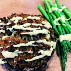 Savory Stuffed Portobello Mushrooms: Eat to Live