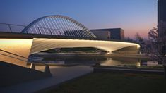 Gallery of Santiago Calatrava Designs 3 New Bridges for Huashan - 21