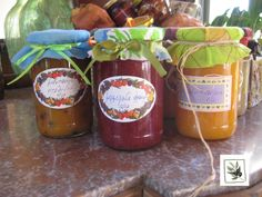Our homemade jams #greekbreakfast #fruits #jam