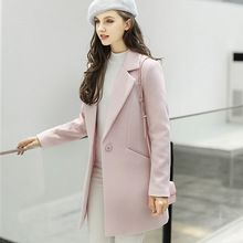 Danjeaner 2017 New Fashion Wool Women Basic Wool Coats Medium-Long Women's Winter Jacket Women Woolen Outerwear Casaco Feminino   Tag a friend who would love this!   FREE Shipping Worldwide   Get it here ---> https://tshirtandjeans.store/products/danjeaner-2017-new-fashion-wool-women-basic-wool-coats-medium-long-womens-winter-jacket-women-woolen-outerwear-casaco-feminino/