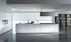 Cocinas con mubles minimalistas - Minimalist furnitures for kitchens