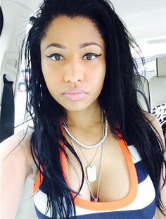 Nicki Minaj Natural Look | Nicki Minaj's Selfie Game Is On An Au Naturel Level (PHOTOS)